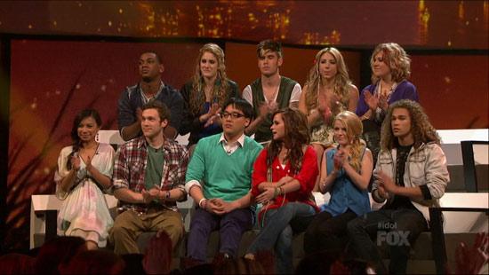 American Idol season 11 cast