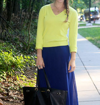 College student fashion & style at American University
