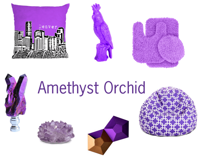 Amethyst Orchid home decor