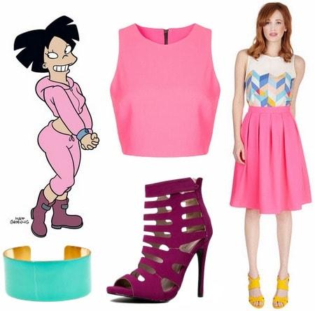 Amy Futurama outfit