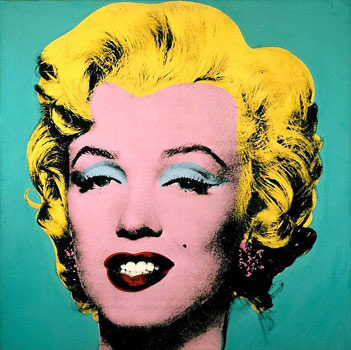 Andy Warhol's Marilyn painting