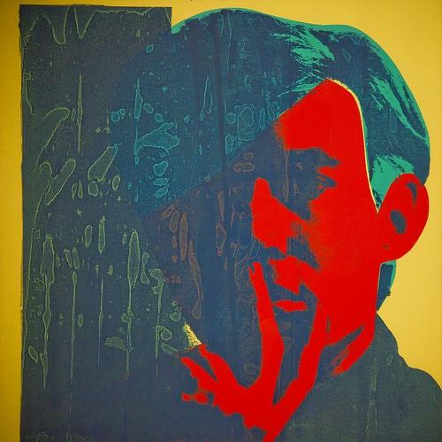 """Self Portrait"" by Andy Warhol"
