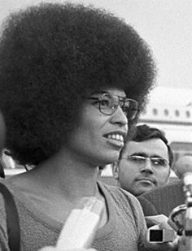 Angela Davis Afro