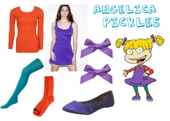 Angelica Pickles Costume
