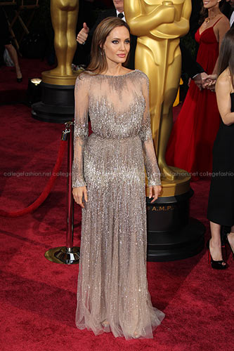 Angelina Jolie in Elie Saab Couture at the 2014 Academy Awards