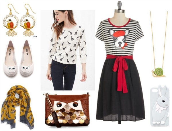 animal motif items 2