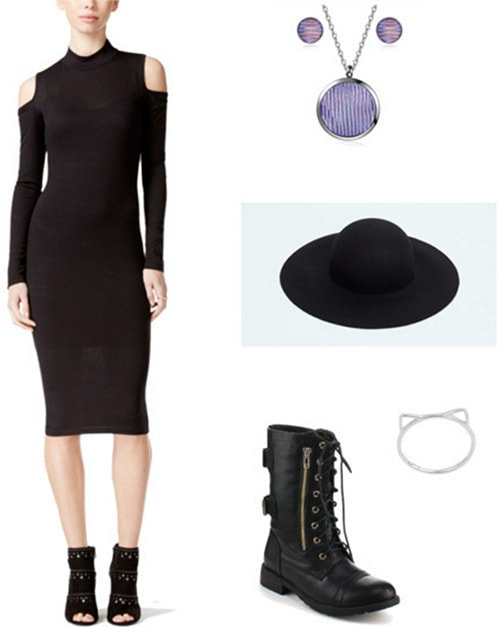 Outfit inspired by Blair from the anime Soul Eater - anime fashion