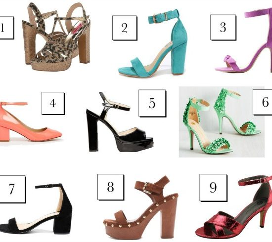 9 affordable pairs of ankle-strap heels