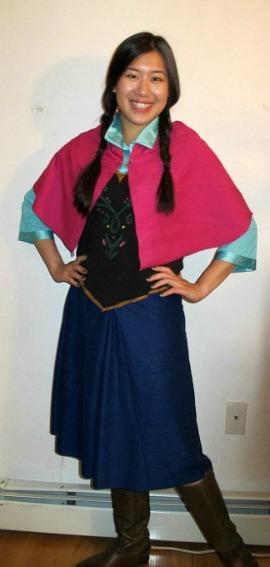 Anna Frozen Halloween costume