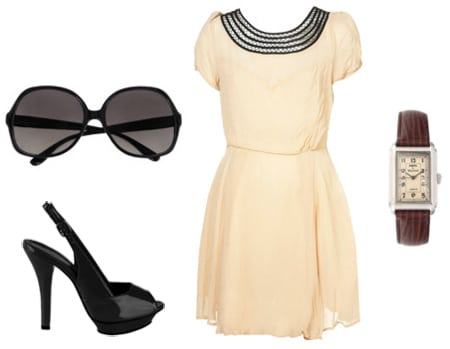 Outfit inspired by Anna Wintour