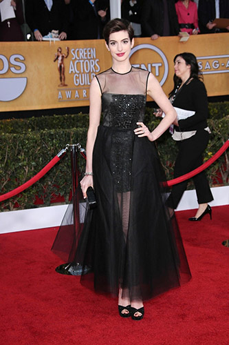 Anne Hathaway at the 2013 SAG Awards