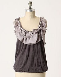anthro blouse