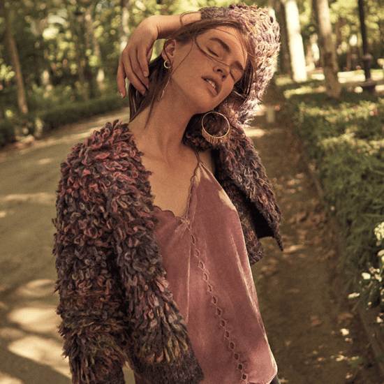 Anthropologie October 2017 catalog: Nubby cardigan