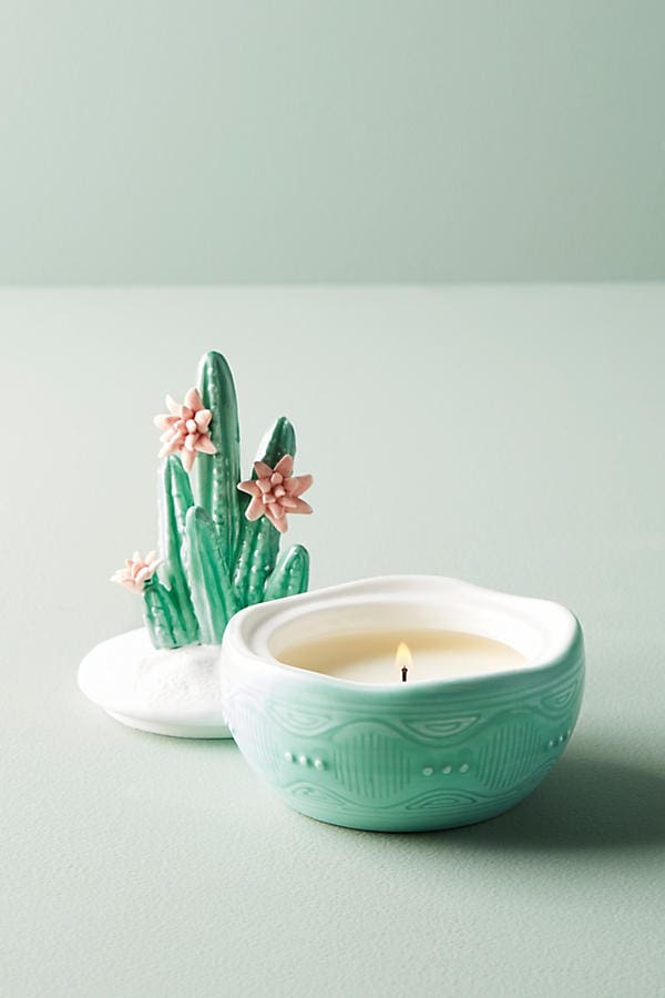 Anthropologie scented candle