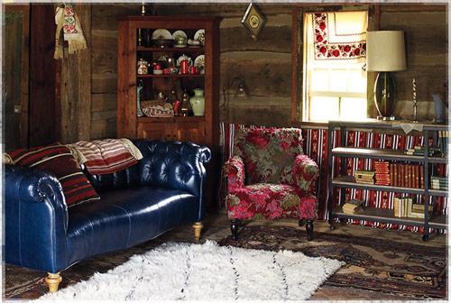 fabulous anthropologie inspired living room | Who's That Designer? Kristin Norris & Trevor Lunn for ...