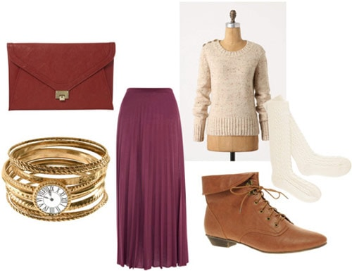 Outfit inspired by Anthropologie