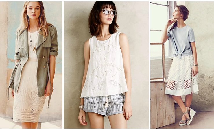 anthropologie summer outfits