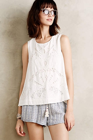 anthropologie-tassel-shorts-cut-out-tank