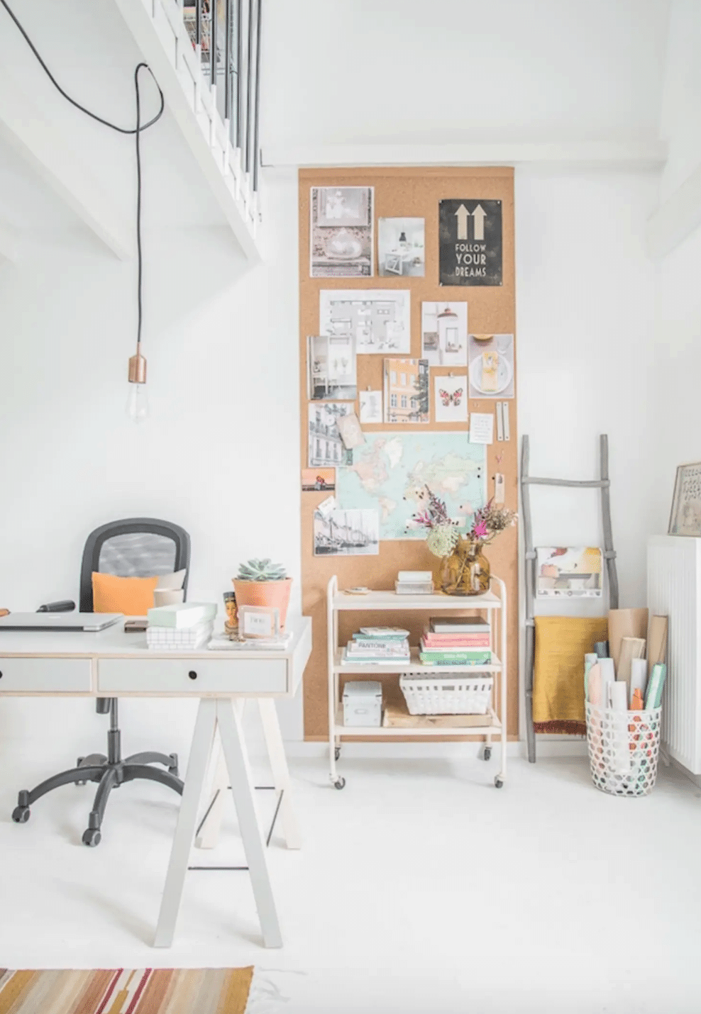 Inspiration board from Apartment Therapy