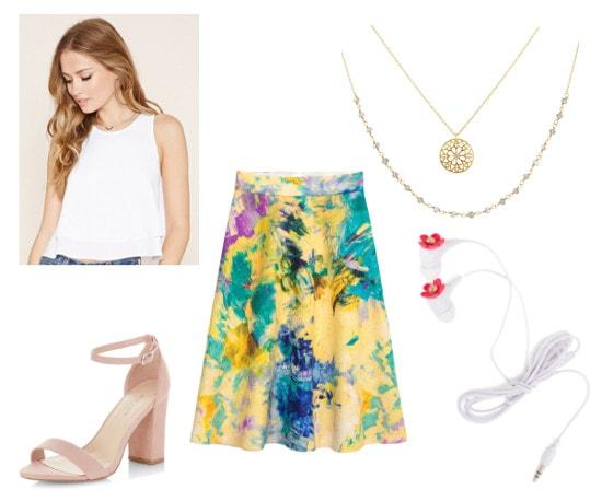 Greek Mythology Fashion- Apollo-inspired outfit