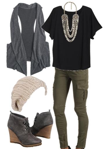 Casual Yet Trendy Look for Aria