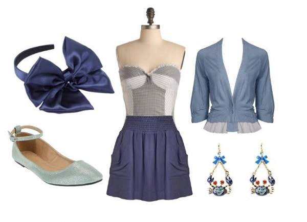 Ariel Outfit 3