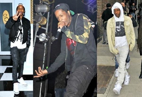 A$AP Rocky fashion