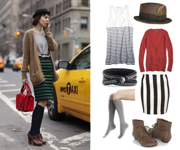 Street style outfit - class act