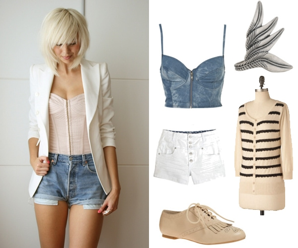 Street style outfit - Creme de la Creme