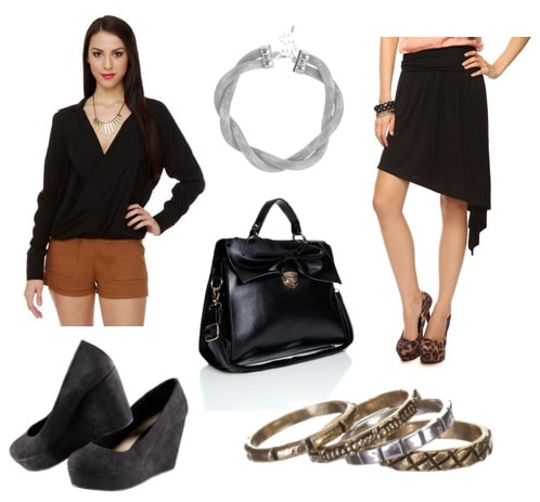 Ask CF-All Black Work Outfit-Fashion