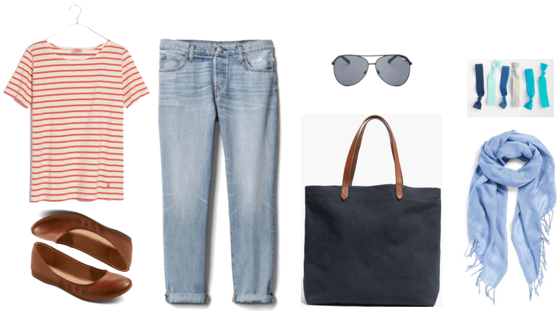"""Ask CF: How Do I Build a Capsule Wardrobe for My Trip Abroad?"" Outfit #4"