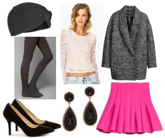 Ask cf dance in winter pink