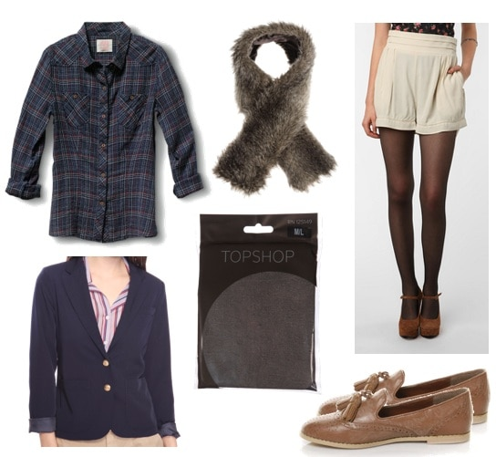 Ask CF-Faux Fur-Scarf Outfit