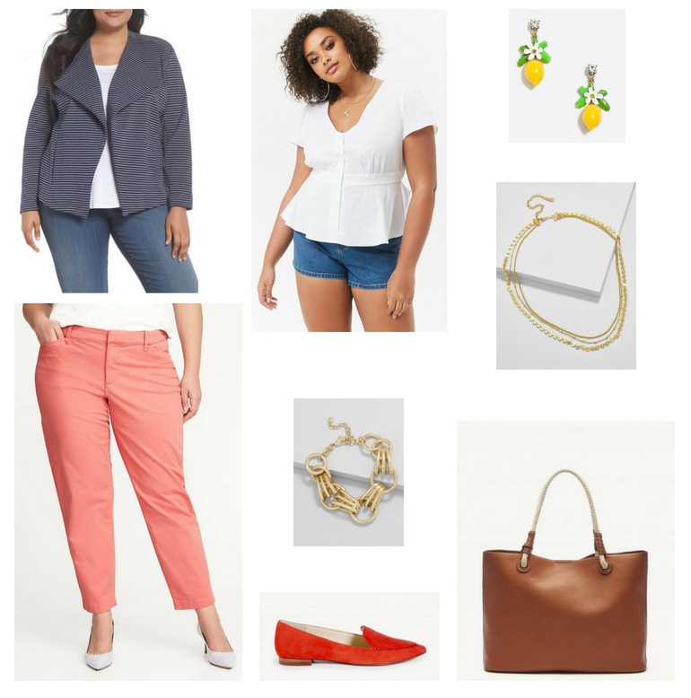 Plus Size Summer Work Outfit 2