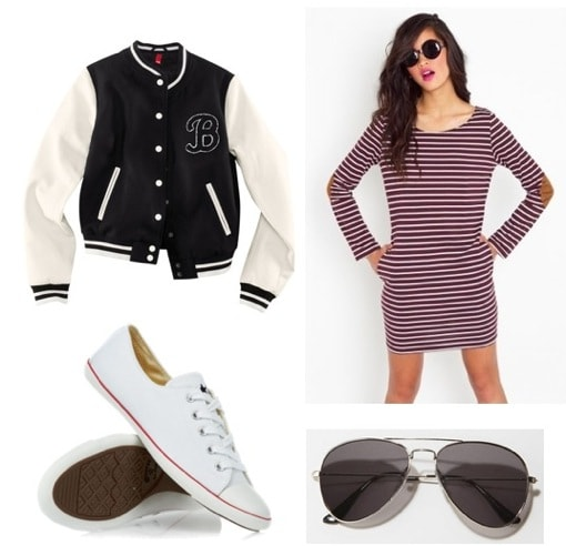 Ask CF-Sneakers-Dress Outfit