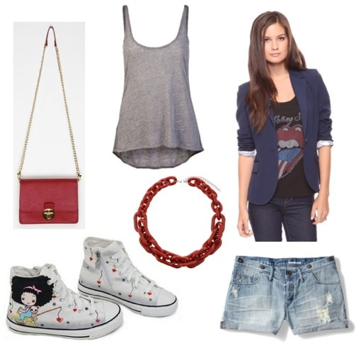 Ask CF-Sneakers-Shorts Outfit