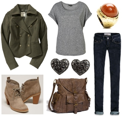 Ask CF-Suede Desert Boots-Outfit 1