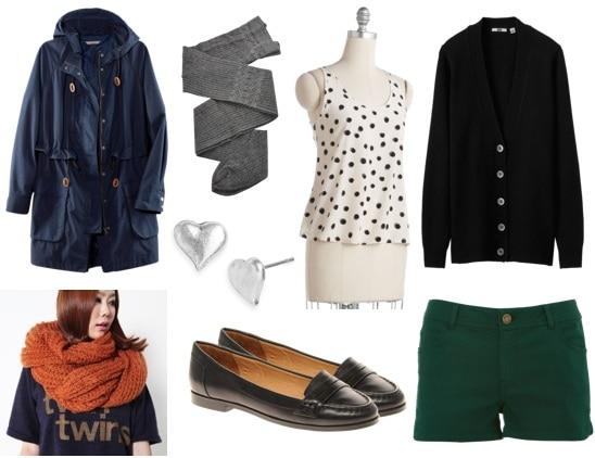 Ask CF-Winter Shorts-Green