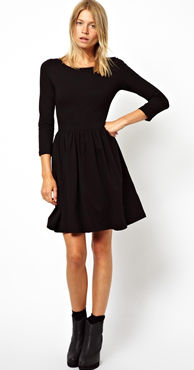 heeled booties with dress