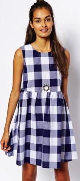 Asos gingham dress