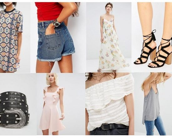 ASOS Summer 2016 Fashion