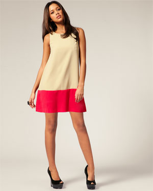 colorblock-dress-ivory-pink
