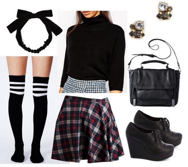 Unfortunate-Events-Adult-Adversaries-Plaid-Skirt