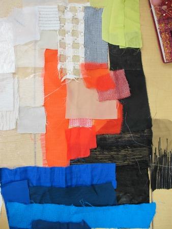 Assorted fabric scraps