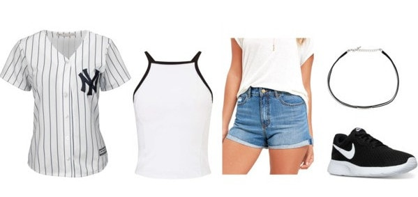 athletic wear class cropped