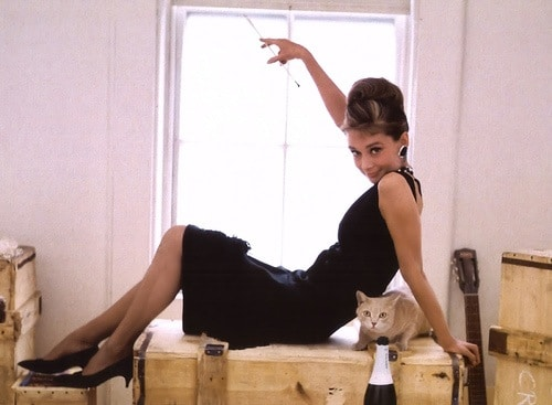 Audrey Hepburn in her Little Black Dress