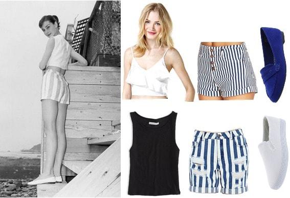 Audrey Hepburn summer fashion