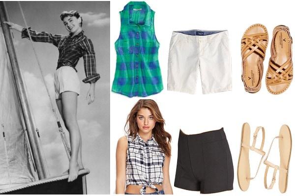 Audrey Hepburn summer style inspiration