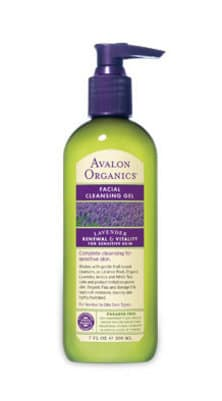 Avalon Organic Facial Cleansing Gel in Lavender Renewal and Vitality