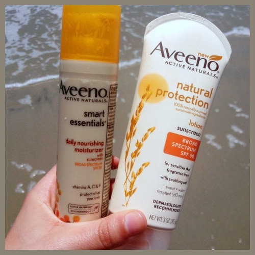 Aveeno sunscreen moisturizer